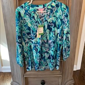 NWT Lilly Pulitzer Harbour Island tunic